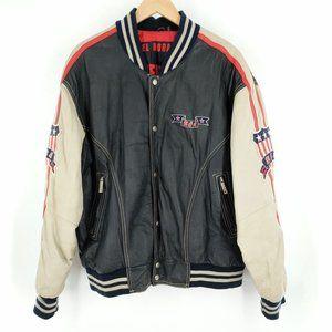 Vintage Excelled Michael Hoban USA Leather Jacket
